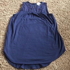 Girls size 10/12 flowy tank top